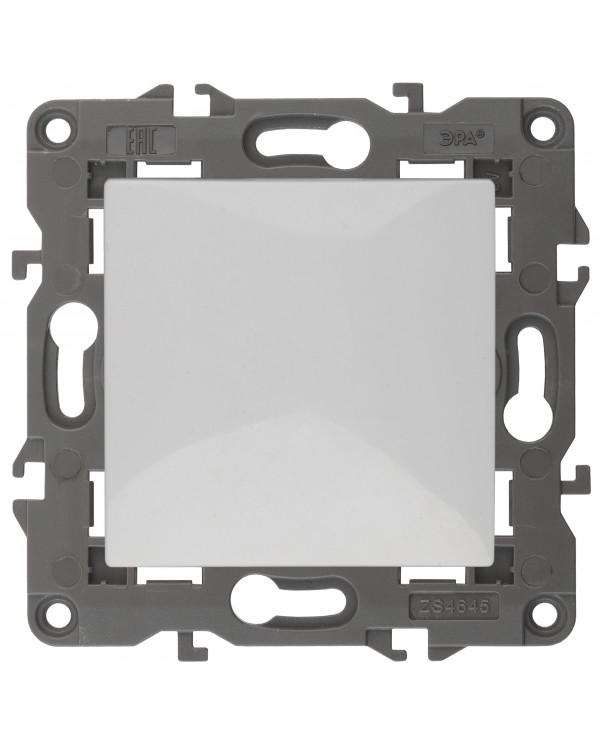14-1101-01 ЭРА Выключатель, 10АХ-250В, IP20, Эра Elegance, белый (10/100/2400), 14-1101-01