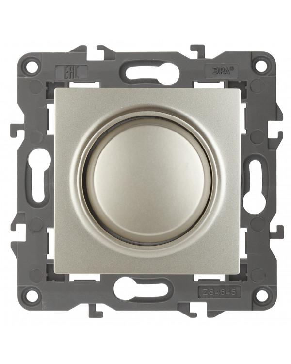 14-4101-04 ЭРА Светорегулятор поворотно-нажимной, 400ВА 230В, IP20, Эра Elegance, шампань (6/60/960), 14-4101-04