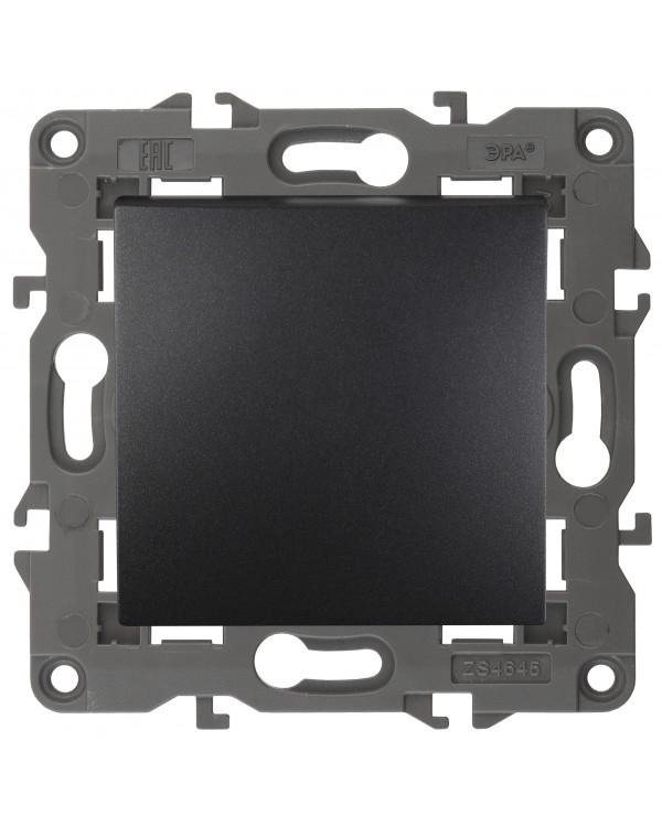14-1101-05 ЭРА Выключатель, 10АХ-250В, IP20, Эра Elegance, антрацит (10/100/3000)