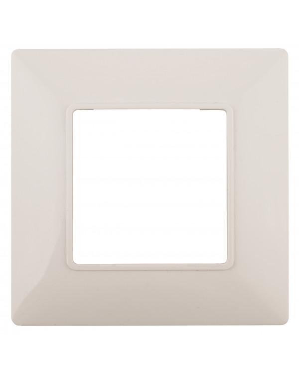 14-5001-02 ЭРА Рамка на 1 пост, Эра Elegance, сл.кость (20/200/6000), 14-5001-02