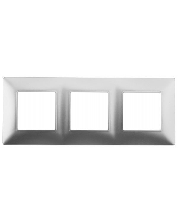 14-5003-03 ЭРА Рамка на 3 поста, Эра Elegance, алюминий (10/100/1200)