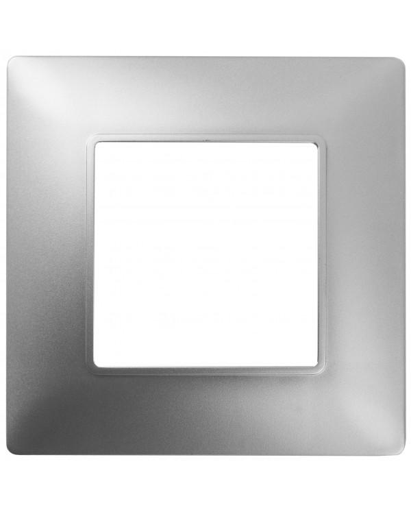 14-5001-03 ЭРА Рамка на 1 пост, Эра Elegance, алюминий (20/200/6000), 14-5001-03