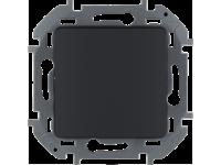 """Выключатель одноклавишный Legrand Inspiria для скрытого монтажа, цвет """"Антрацит"""", номинальный ток 10 А, напряжение ~250В"""