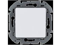 """Выключатель одноклавишный Legrand Inspiria для скрытого монтажа, цвет """"Белый"""", номинальный ток 10 А, напряжение ~250В"""