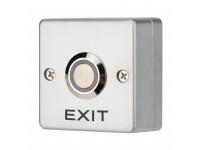 Кнопка «Выход» металлическая с синей подсветкой SB-50