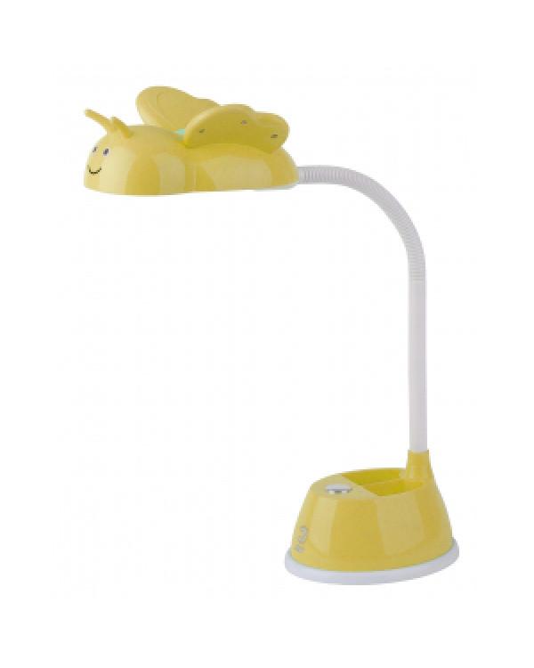 ЭРА NLED-434-6W-Y желтый наст.светильник (16/96)