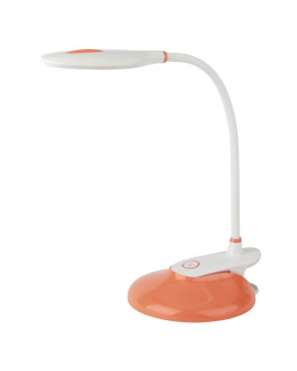 ЭРА NLED-459-9W-OR оранжевый наст.светильник (12/144), NLED-459-9W-OR