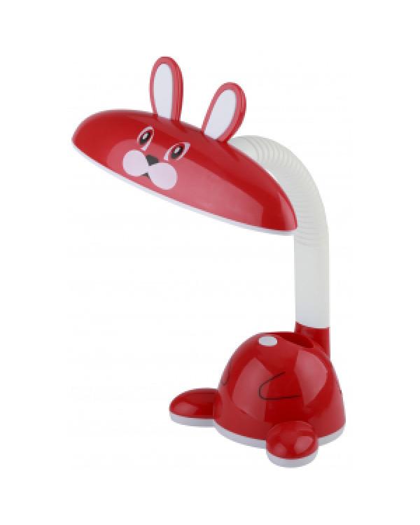 ЭРА наст.светильник NLED-431-5W-R красный (20/120), NLED-431-5W-R