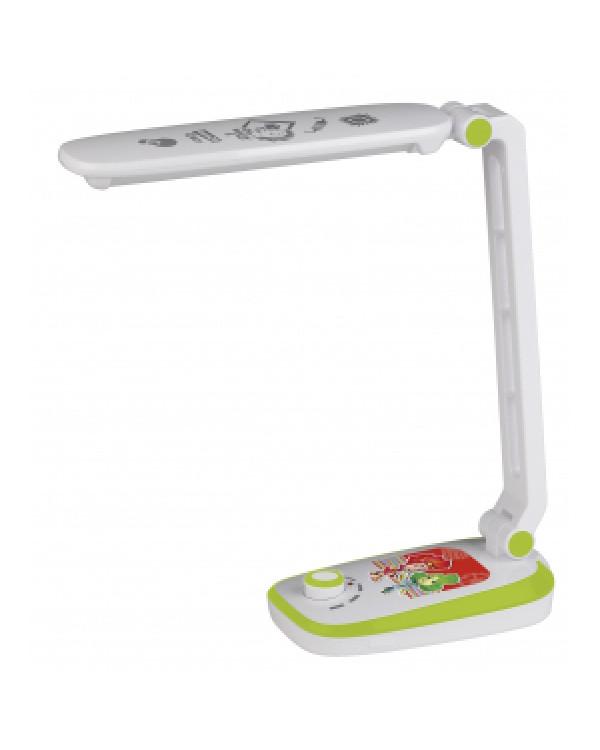 ЭРА наст.светильник NLED-425-4W-GR зеленый ФИКСИКИ (30/360), NLED-425-4W-GR