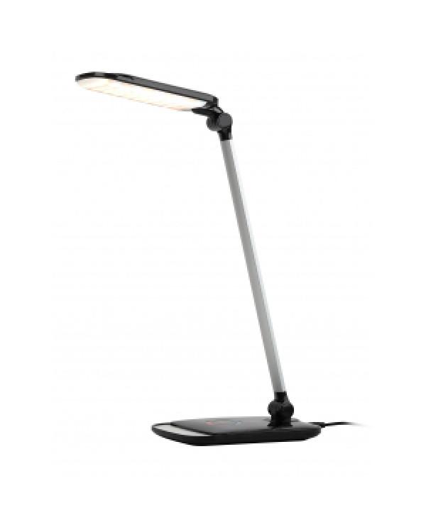 ЭРА NLED-460-14W-BK-S черный с серебром наст.светильник (8/240)
