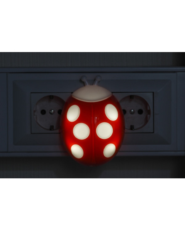 ЭРА ночник NN-601-LS-R красный (42/84/1008)