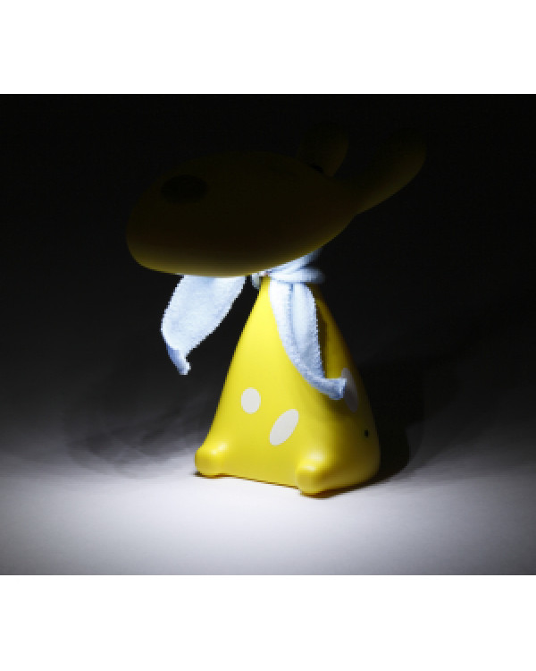 ЭРА наст.светильник NLED-410-1W-Y желтый (30/180)