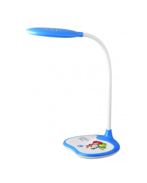 ЭРА NLED-433-6W-BU синий ФИКСИКИ наст.светильник (16/96), NLED-433-6W-BU
