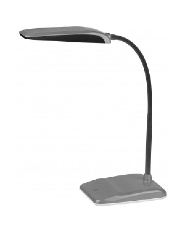 ЭРА наст.светильник NLED-447-9W-S серебро (8/128), NLED-447-9W-S