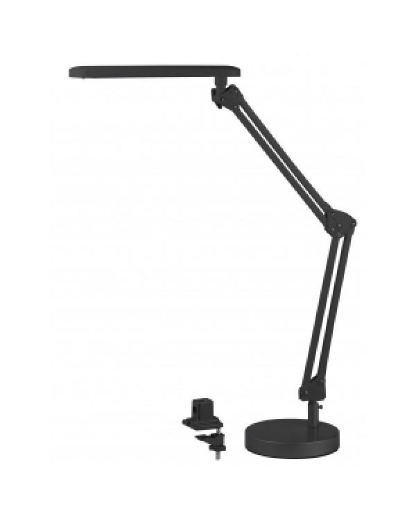 ЭРА наст.светильник NLED-440-7W-BK черный (6/144), NLED-440-7W-BK