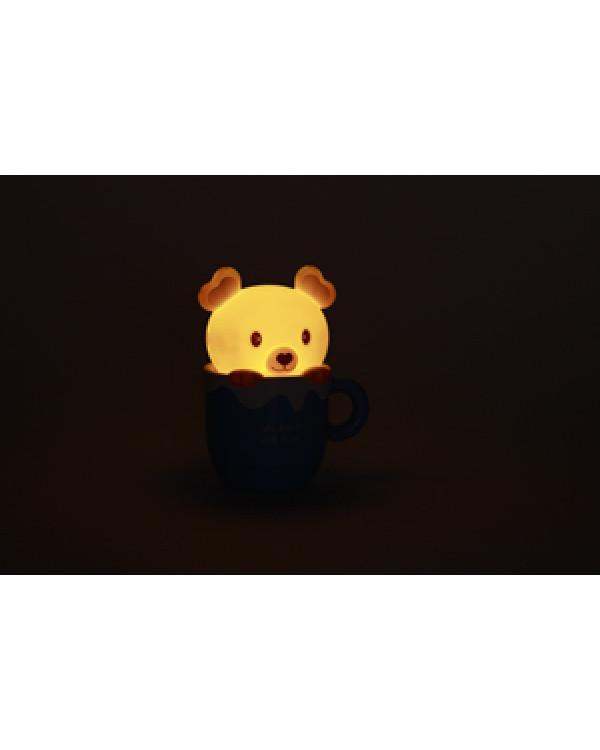 ЭРА наст.светильник NLED-401-0.5W-BU синий (30/270)