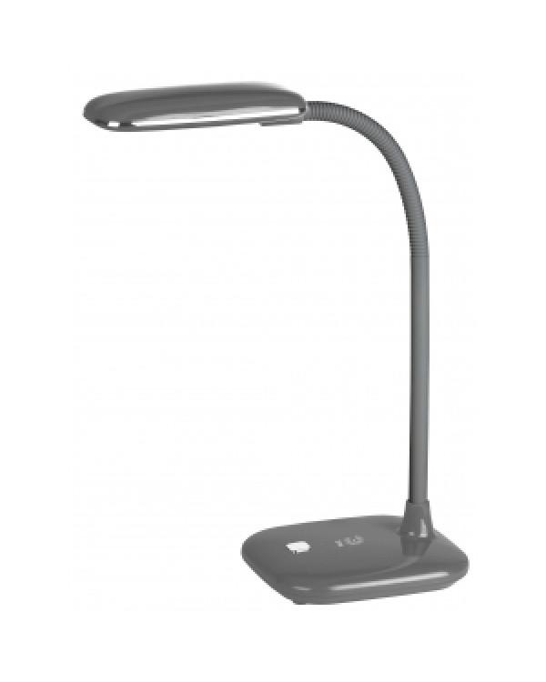 ЭРА наст.светильник NLED-450-5W-GY серый (12/72)