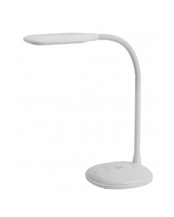 ЭРА NLED-477-8W-W белый наст.светильник (20/120), NLED-477-8W-W