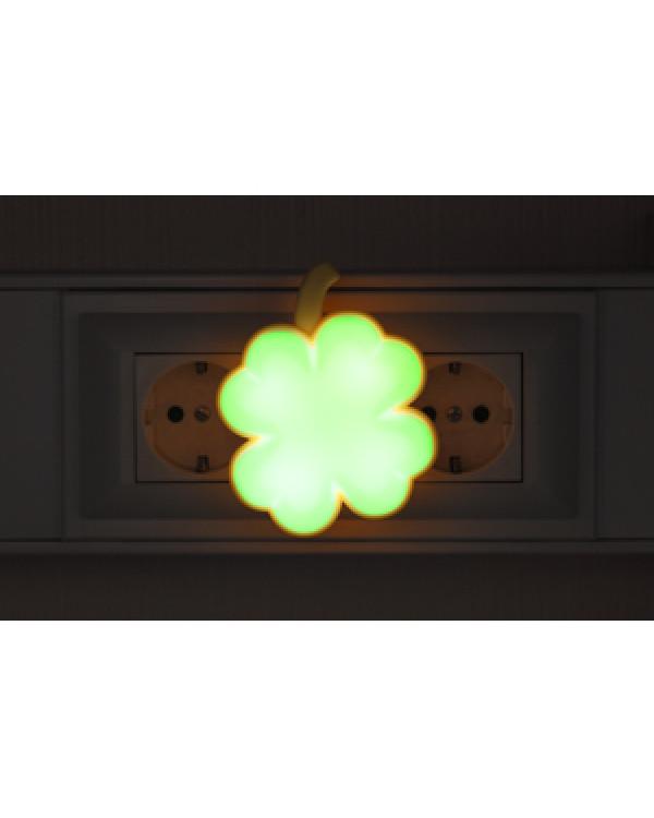 ЭРА ночник NN-606-LS-GR зеленый (12/240/960)