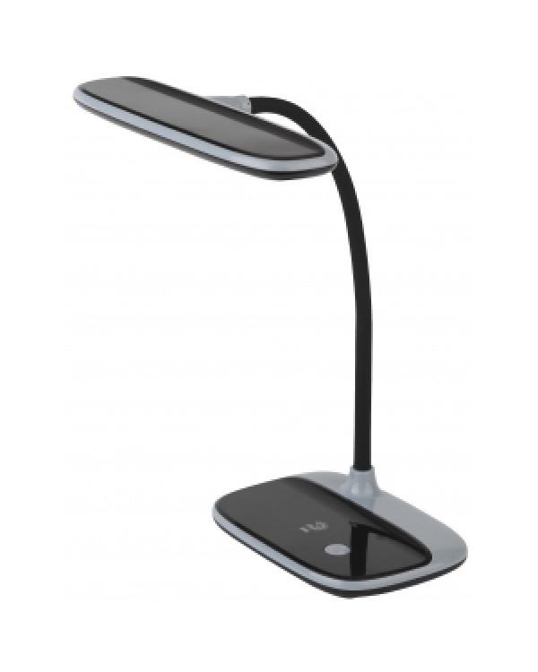 ЭРА NLED-458-6W-BK черый наст.светильник (16/96), NLED-458-6W-BK