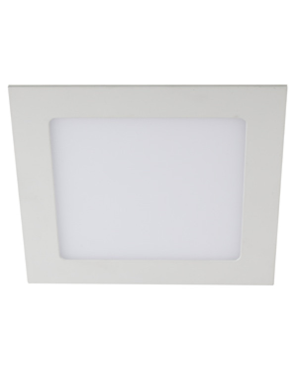 LED 2-18-4K Светильник ЭРА светодиодный квадратный LED 18W 220V 4000K (20/360), LED 2-18-4K