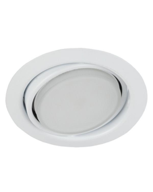 KL35 А WH Светильник ЭРА под лампу Gx53 поворотный, 220V, 13W, белый (80/960), KL35 А WH