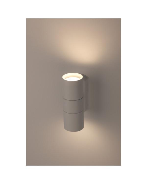 WL28 WH Подсветка ЭРА Декоративная подсветка 2*GU10 MAX35W IP54 белый (20/540), Б0034632