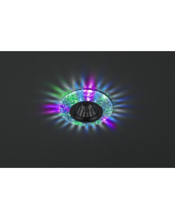 DK LD4 SL/RGB Светильник ЭРА декор cо светодиодной подсветкой( мультиколор), прозрачный (50/1400)
