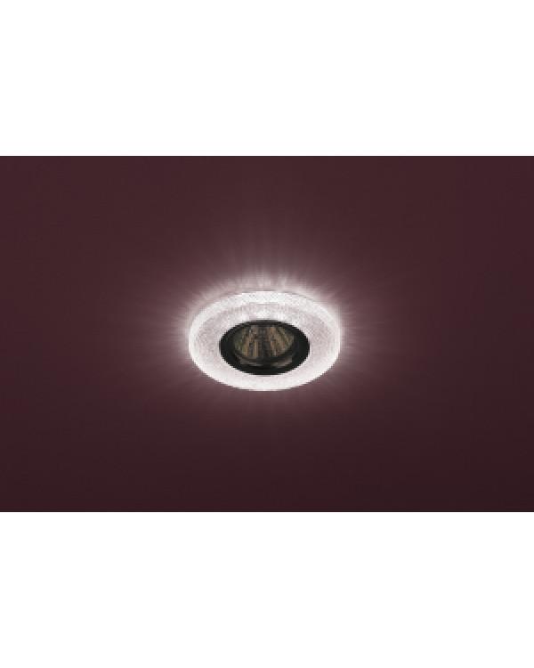 DK LD1 PK Светильник ЭРА декор cо светодиодной подсветкой, розовый (50/1750), DK LD1 PK