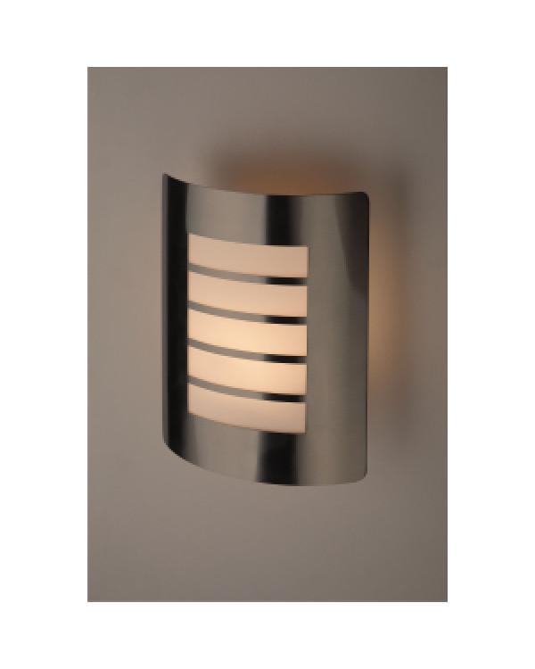 WL22 Подсветка ЭРА Декоративная подсветка E27 MAX40W IP44 хром/белый (12/96), Б0034621