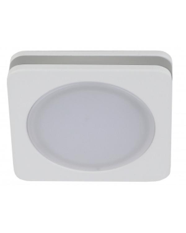 KL LED 13-7 WH Светильник ЭРА светодиодный квадратный 7W 4000K, белый (50/900), KL LED 13-7 WH