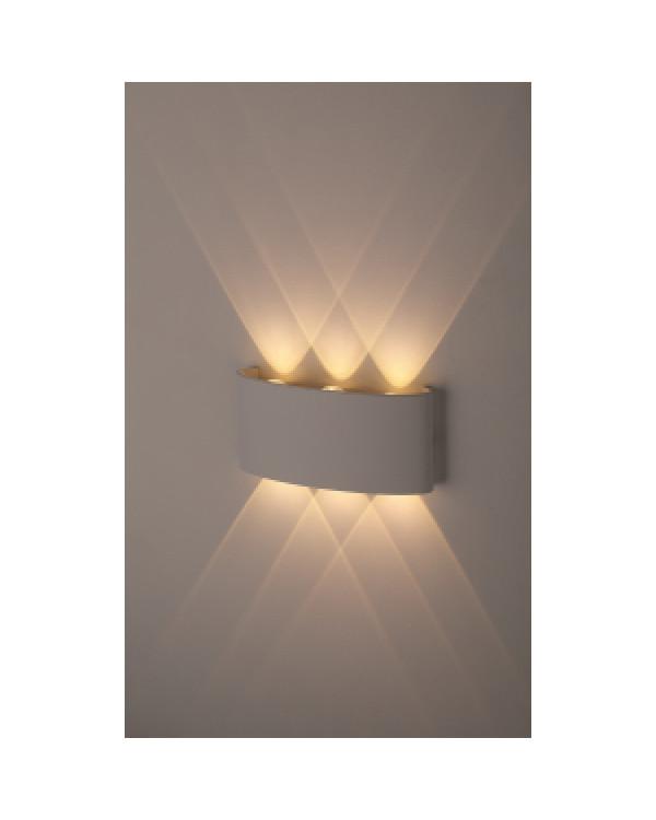WL12 WH Подсветка ЭРА Декоративная подсветка светодиодная ЭРА 6*1Вт IP 54 белый (20/800), Б0034610