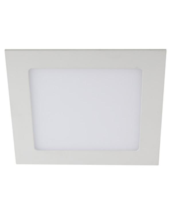 LED 2-18-6K Светильник ЭРА светодиодный квадратный LED 18W 220V 6500K (20/280), LED 2-18-6K