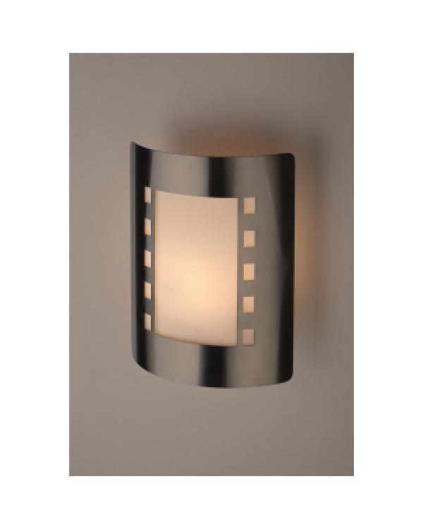 WL23 Подсветка ЭРА Декоративная подсветка E27 MAX40W IP44 хром/белый (12/96), Б0034622