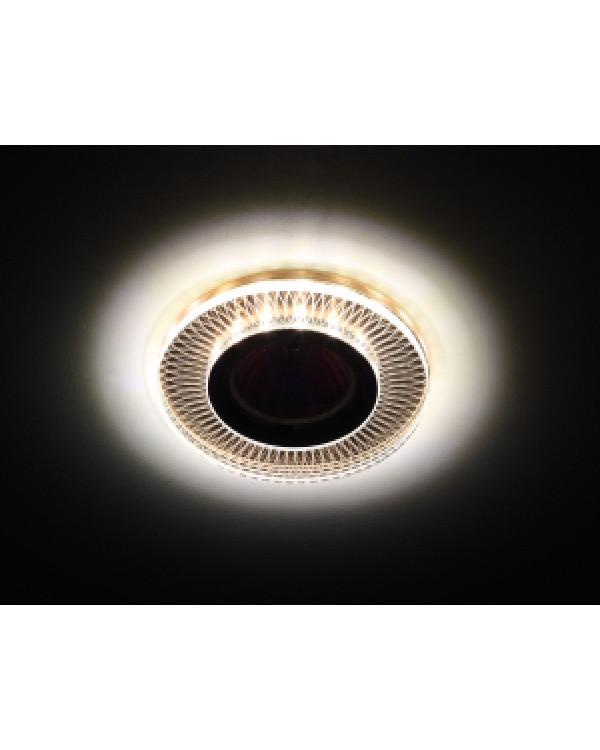 DK LD44 TEA 3D Светильник ЭРА декор cо светодиодной подсветкой MR16, чай (50/2000), DK LD44 TEA 3D