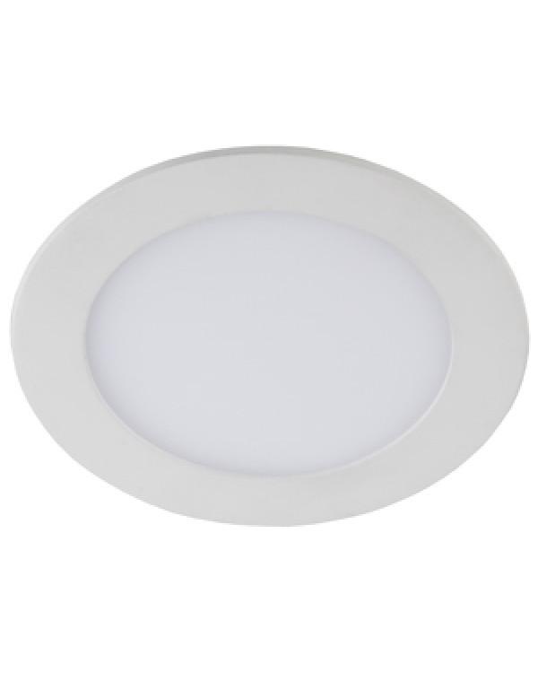 LED 1-12-6K Светильник ЭРА светодиодный круглый LED 12W 220V 6500K (30/630), LED 1-12-6K