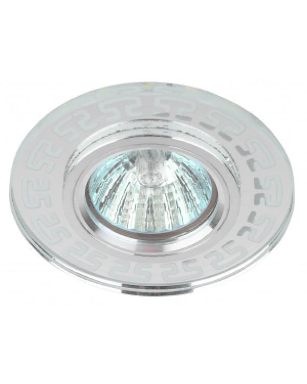 DK LD45 SL Светильник ЭРА декор cо светодиодной подсветкой MR16, зеркальный (50/2000)