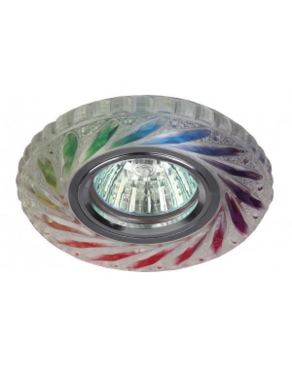 DK LD13 SL RGB/WH Светильник ЭРА декор cо светодиодной подсветкой MR16, мультиколор (50/1400), DK LD13 SL RGB/WH