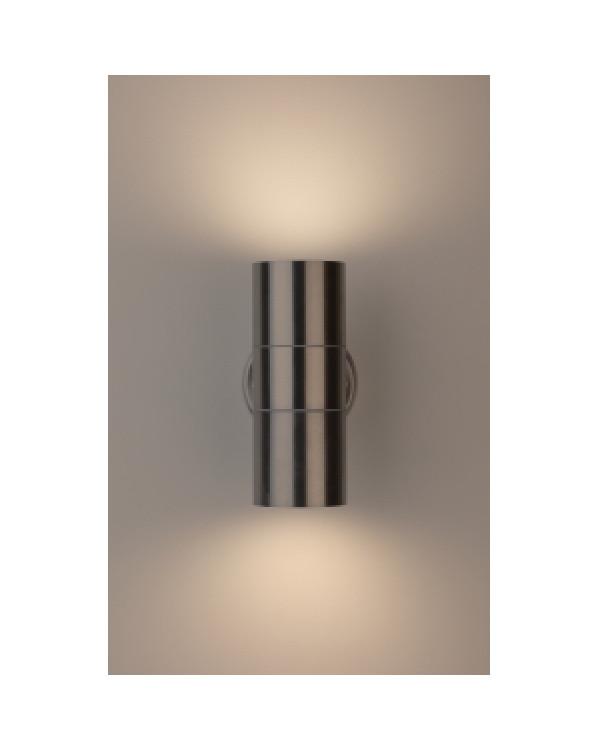 WL16 Подсветка ЭРА Декоративная подсветка 2*GU10 MAX35W IP54 хром (20/360), Б0034616