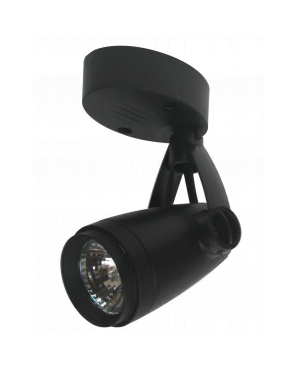OL5 GU10 BK Светильник ЭРА Накладной, черный (50/600), OL5 GU10 BK