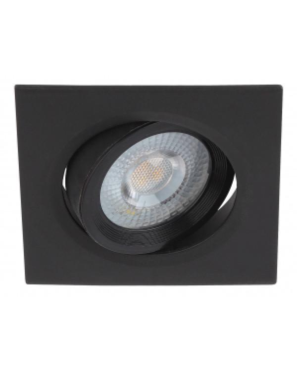 KL LED 21A-5 4K BK Светильник ЭРА Светильник ЭРА светодиодный квадратный поворотн. LED SMD 5W 4000K,, KL LED 21A-5 4K BK