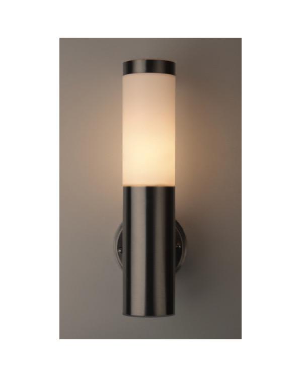 WL17 Подсветка ЭРА Декоративная подсветка E27 MAX40W IP44 хром/белый (12/96), Б0034617