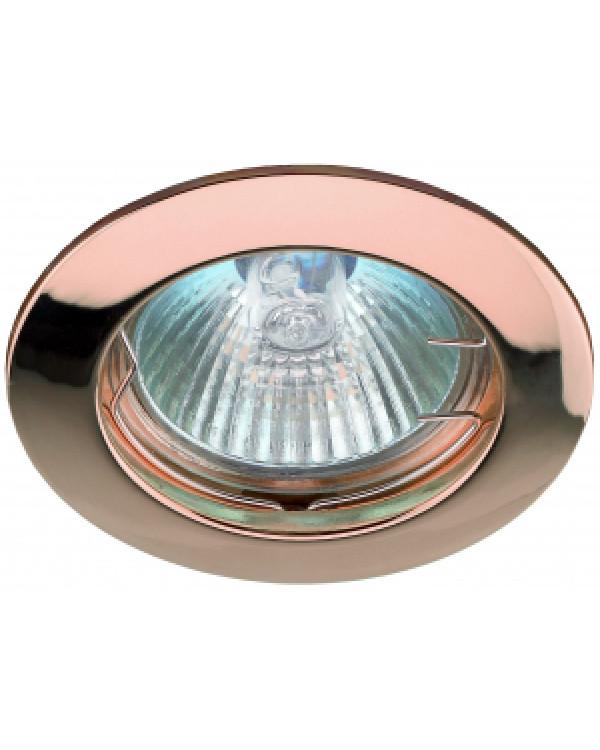 KL1 SC Светильник ЭРА литой простой MR16,12V, 50W медь (100/3000), KL1 SC
