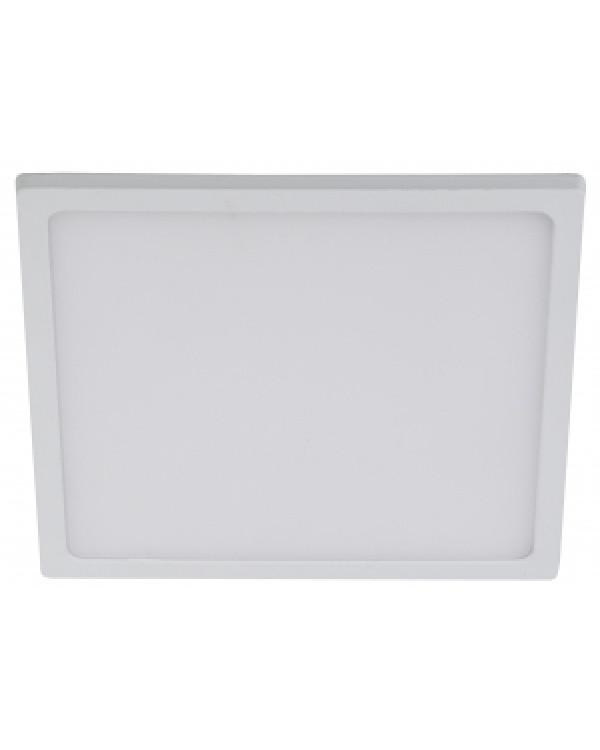 LED 6-12-4K Светильник ЭРА светодиодный квадратный NEW 12W 4000K d145 (60/720)
