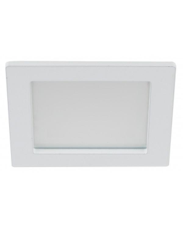 LED 2-6-4K eco Светильник ЭРА светодиодный квадратный LED 6W 220V 4000K (40/960)