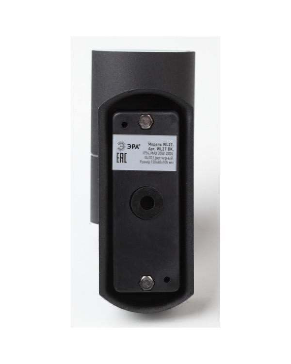 WL27 BK Подсветка ЭРА Декоративная подсветка GU10 MAX35W IP54 черный (20/720), Б0034628