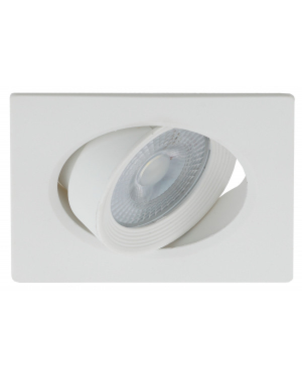 KL LED 21A-5 4K WH Светильник ЭРА светодиодный квадратный поворотн. LED SMD 5W 4000K, белый (100/160, KL LED 21A-5 4K WH