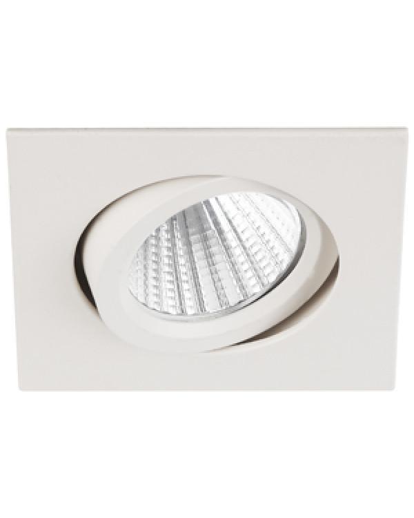 KL LED 10A WH Светильник ЭРА светодиодный квадратный пов. LED COB 5W 4000K, белый (50/1500), KL LED 10A WH