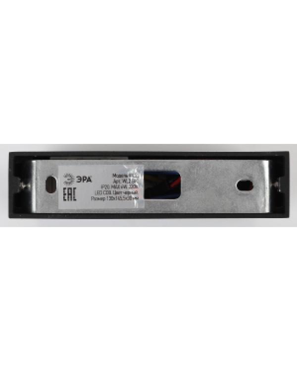 WL2 BK Подсветка ЭРА Декоративная подсветка светодиодная 6Вт IP 20 черный поворотный (20/720), Б0034596