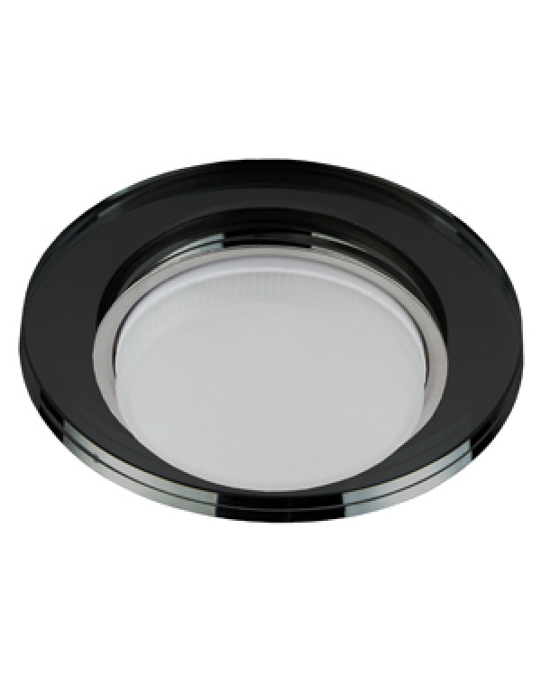 DK80 BK Светильник ЭРА под лампу Gx53, 220V,13W, черный (30/1200)